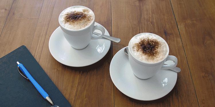 leichtle webdesign, Erstgespräch bei einer Tasse Kaffee
